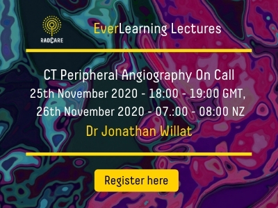 CT Peripheral Angiography with Dr Jon Willat
